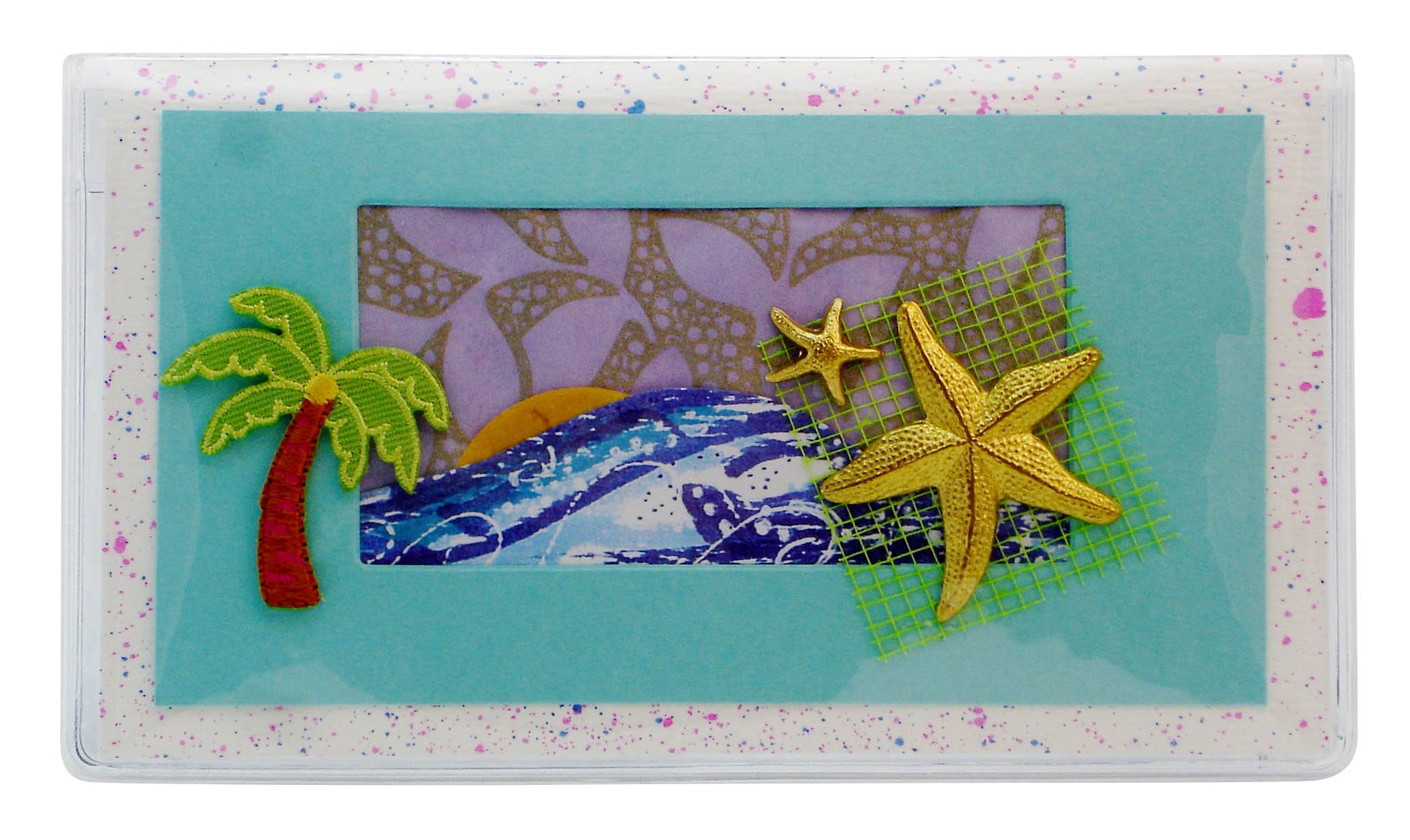 Starfish Checkbook Cover Made in the USA