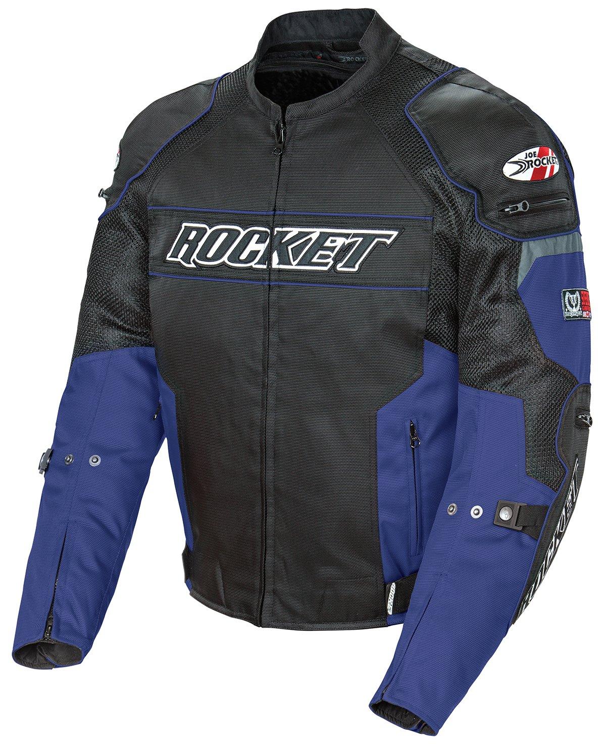 Image result for Joe Rocket 1460-1204 Resistor Men's Mesh Motorcycle Jacket (Blue/Black, Large)
