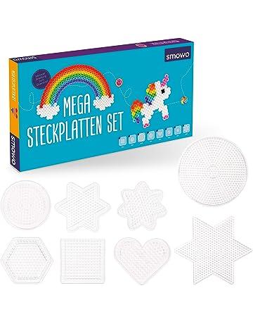 Verschiedene Steckplatte Bügelperlen Set 11 Farben 11.000 Teile Vorlagen