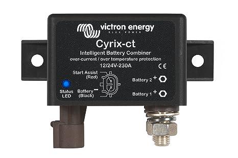 Combinador inteligente de baterías Cyrix-ct 12/24 V 230 A
