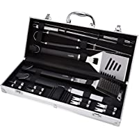 AmazonBasics Grilling Tool Set - 15piece