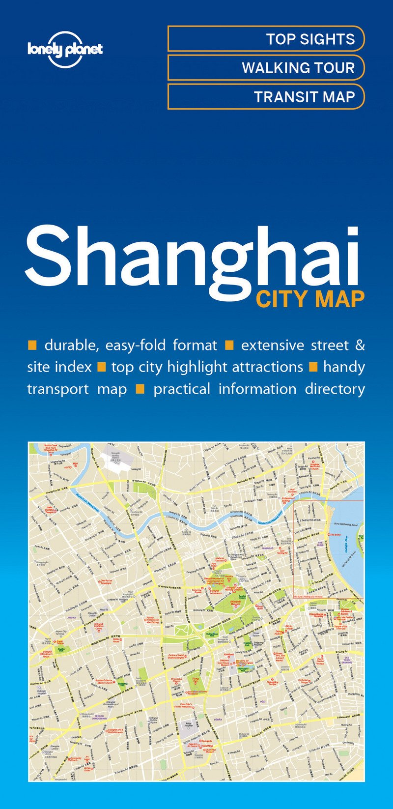 Lonely Planet ShanghaiCity Map (Lonely Planet City Maps)