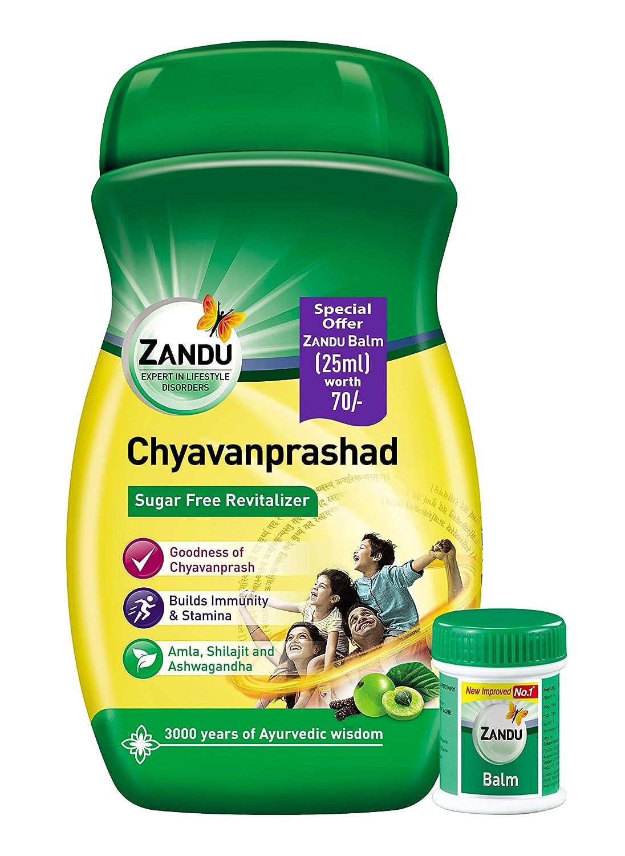 Zandu Chyawanprashad - 900 g with Zandu Balm - 25 ml
