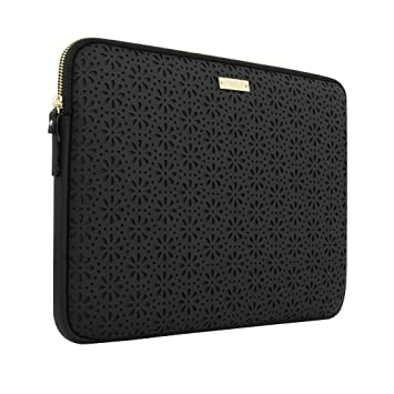 super cute new products for special promotion Kate Spade KSMB-016-BLK New York Perforated Sleeve for 13 ...