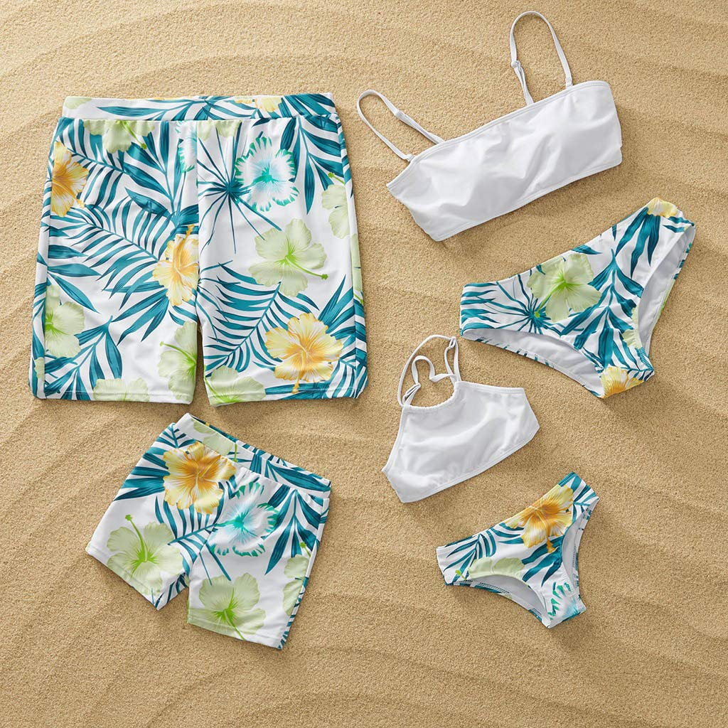 NUWFOR Baby Boys Swimwear Running Surfing Sports Beach Shorts Trunks Board Pants(Z-White,3-4Years) by NUWFOR (Image #2)