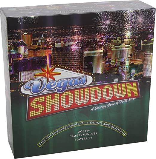 Vegas Showdown - Juego de Estrategia (Wizards of The Coast) (versión en inglés): Vegas Showdown Board Game: Amazon.es: Juguetes y juegos