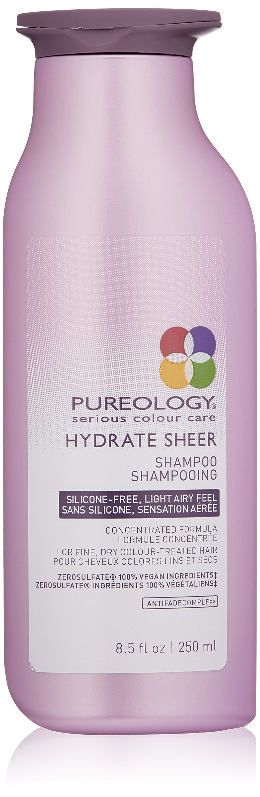 Pureology Hydrate Sheer Moisturizing Shampoo for Color Treated Hair,Sulfate-Free, Silicone-Free,8.5 oz. by Pureology