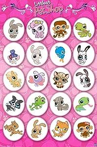 """Trends International Littlest Pet Shop Grid Wall Poster 22.375"""" x 34"""""""
