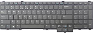 Laptop replacement keyboard (without Backlit and Pointer ) for Dell Latitude E5540 Compatible with part# 04RNXY NSK-LEBUC PK130WR1A00 9Z.NASUC.B01, US layout black color