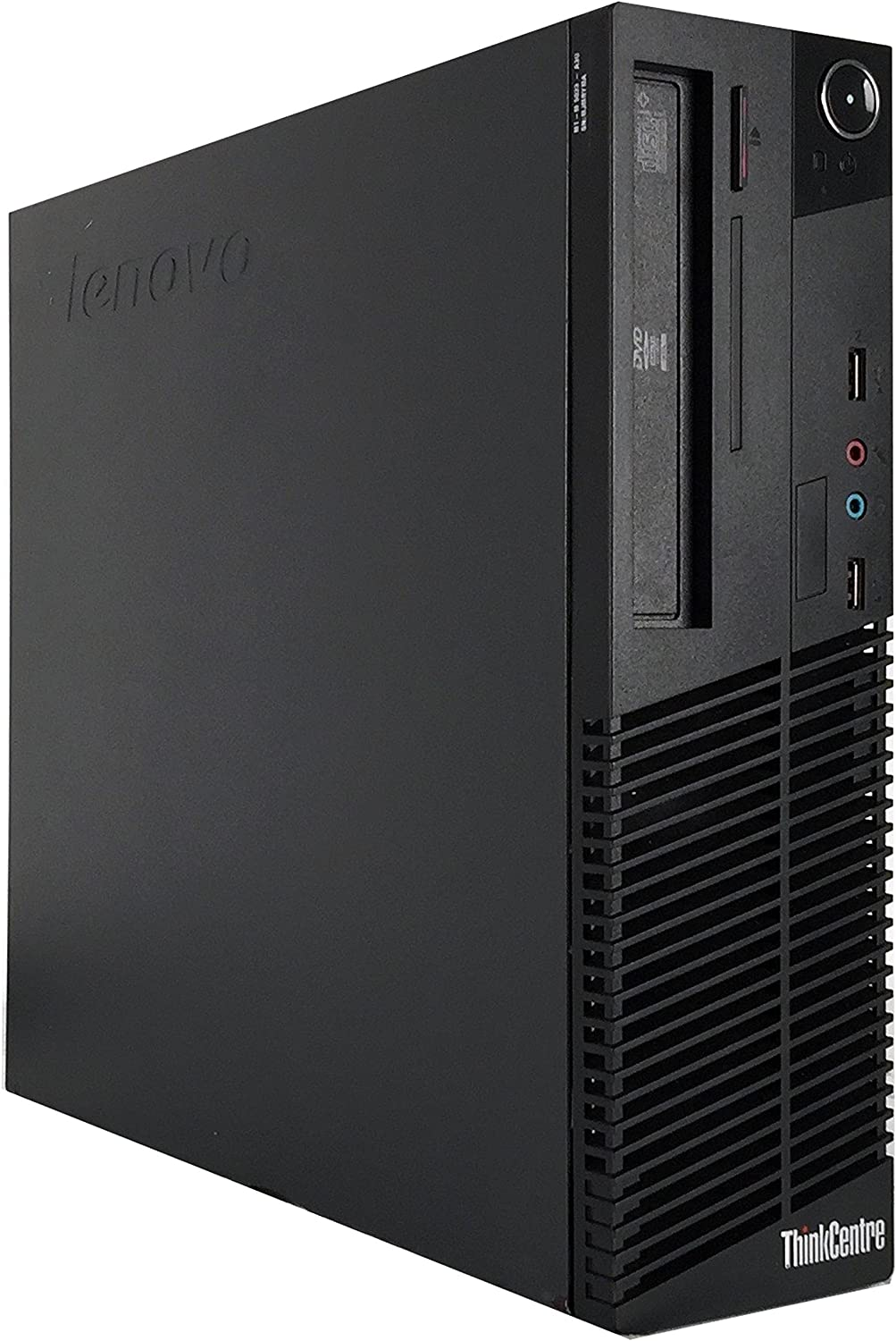 Lenovo ThinkCentre M78 Small Form Factor Desktop Computer (AMD A8-5500B 3.2GHz Quad-Core, 8GB DDR3 RAM, 500GB, DVD-ROM,USB WIFI, Windows 10 Pro 64-Bit) (Renewed)