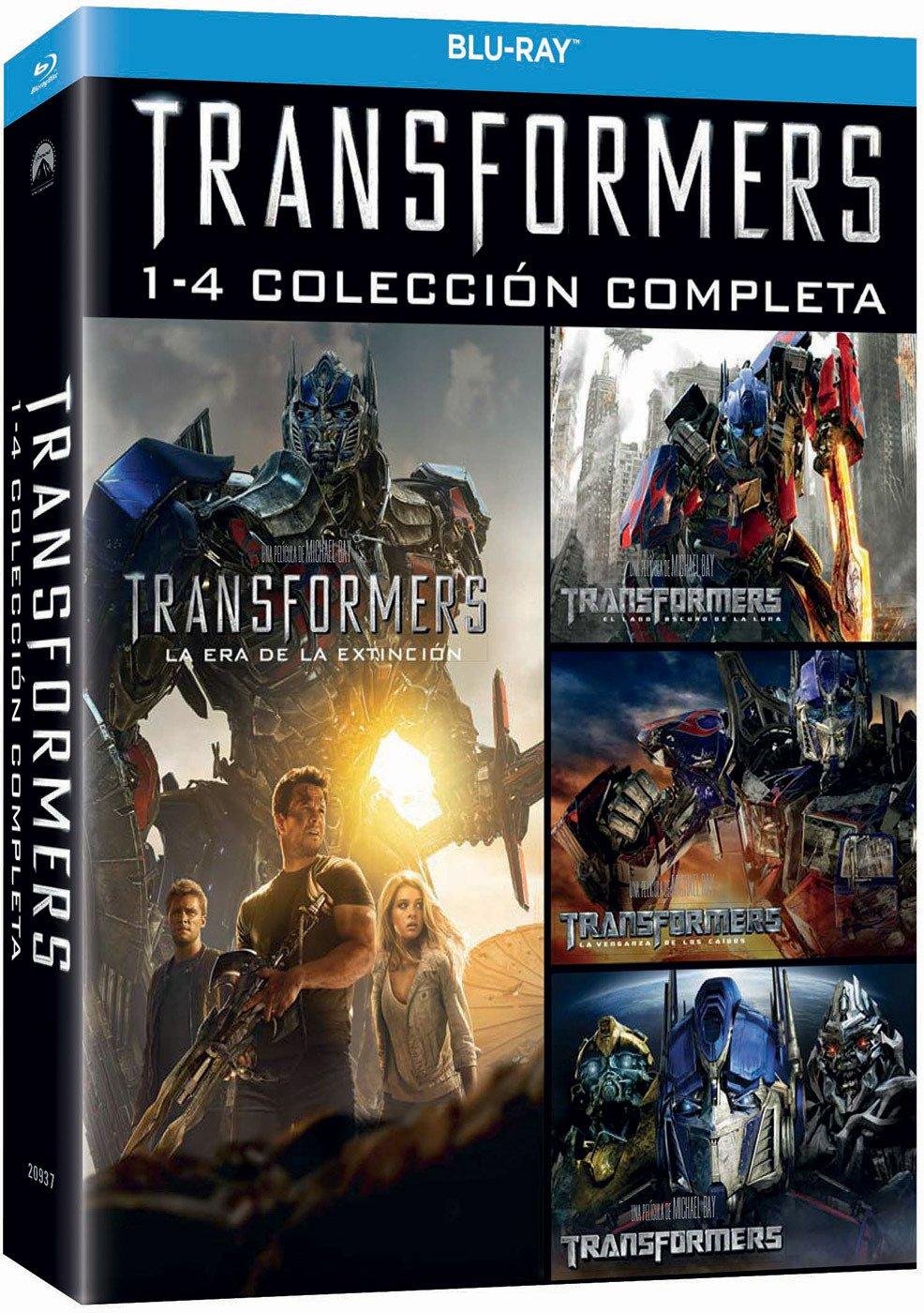 Pack: Transformers 1-4 [Blu-ray]: Amazon.es: Shia LaBeouf, Rosie ...