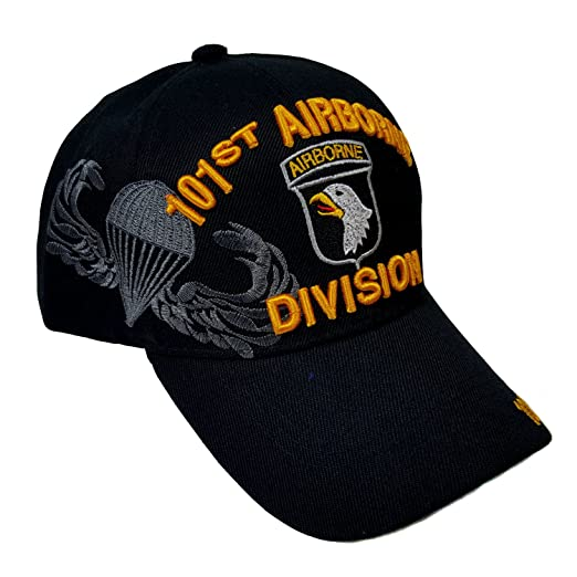 7bd8f7e110a08 Amazon.com  US Military 101st Airborne Division Black Officially ...