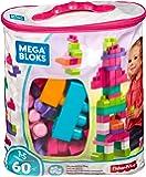 Mega Bloks DCH54 Sacca Ecologica Rosa 60 Pezzi