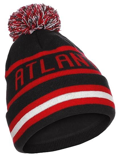 US Cities Atlanta Georgia Cuff Beanie Knit Pom Pom Hat Cap (One Size ... 563bc43e9e4