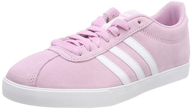 pretty nice a79fd 47450 adidas VS Coneo QT W Chaussures de sport pour femmes Rose Pointure 37 ...