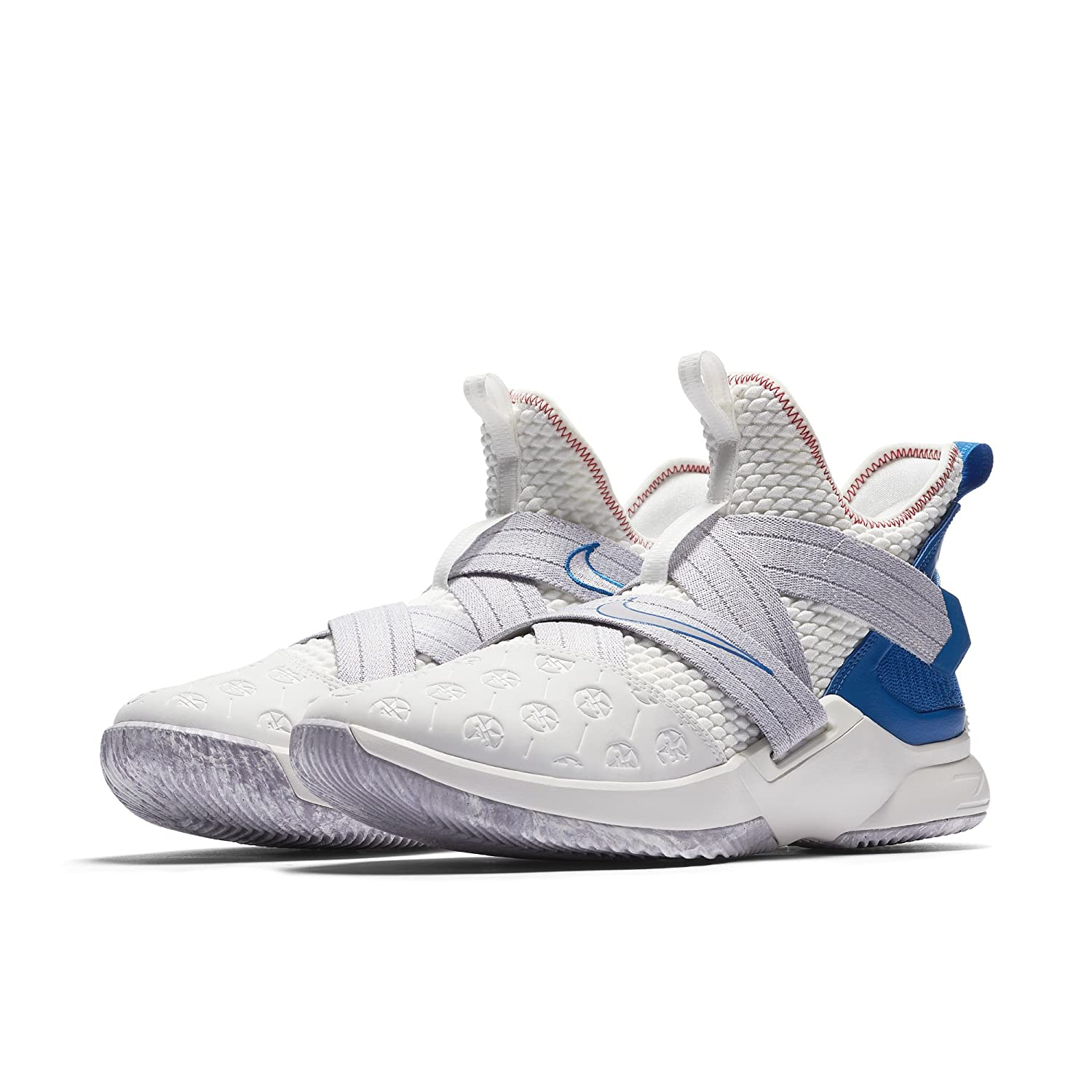 b790b100cb48 Amazon.com  NIKE Lebron Soldier XII Men s Sneakers AO2609-101 Size 8   Sports   Outdoors