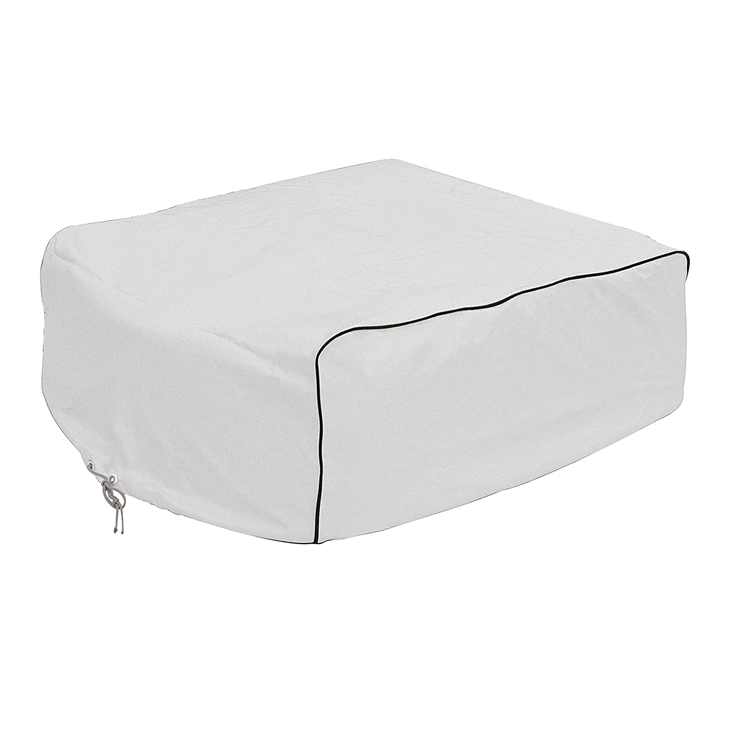 Classic Accessories 77410 RV AC Cover, White, For Coleman Mach I, II & III, Mach 3 Plus, Mach 15, Roughneck & TSR