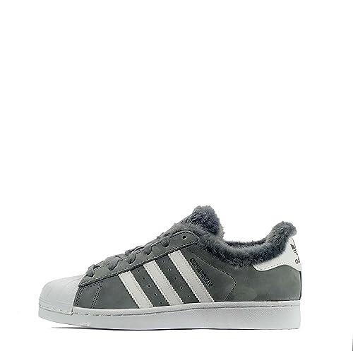 c48773d85 adidas DB2516 - Zapatillas de Ante para Mujer Grey White Grey 37 1 3 ...