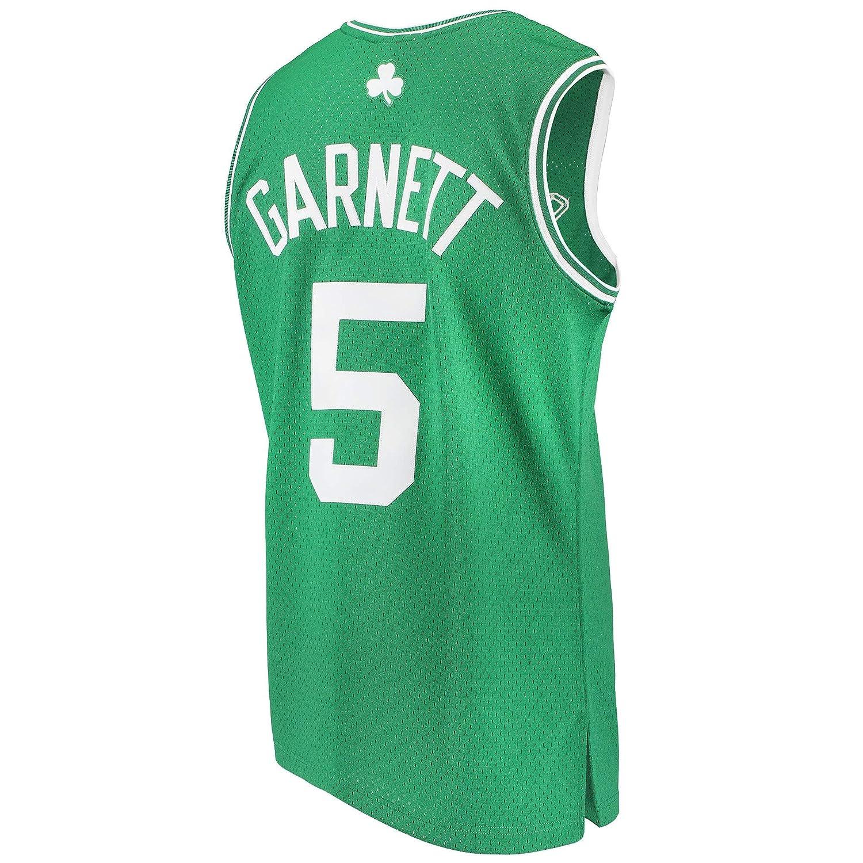 Mitchell & Ness スイングマンジャージ NBA ケビンガーネット ボストンセルティックス #5 グリーン [並行輸入品] US Small  B07G8KMPMR