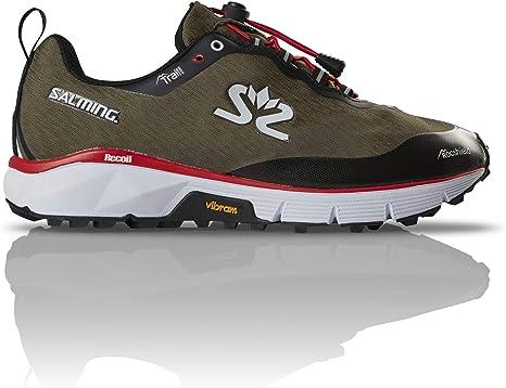 Salming - Zapatillas de correr para mujer, color verde oliva, Mujer ...
