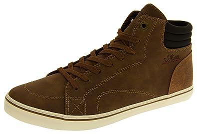 S Effet oliver Montantes 25208 Baskets Studio Bottes Footwear Daim kuOPZXi
