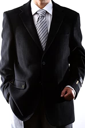 Mens black sport jacket