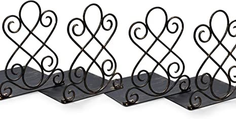 Art Bookends in Vintage Bronze Finish Pack of 2 NEUN WELTEN NW043 ...