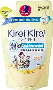Kirei Kirei Anti-bacterial Foaming Hand Soap Refill, Natural Citrus, 200ml