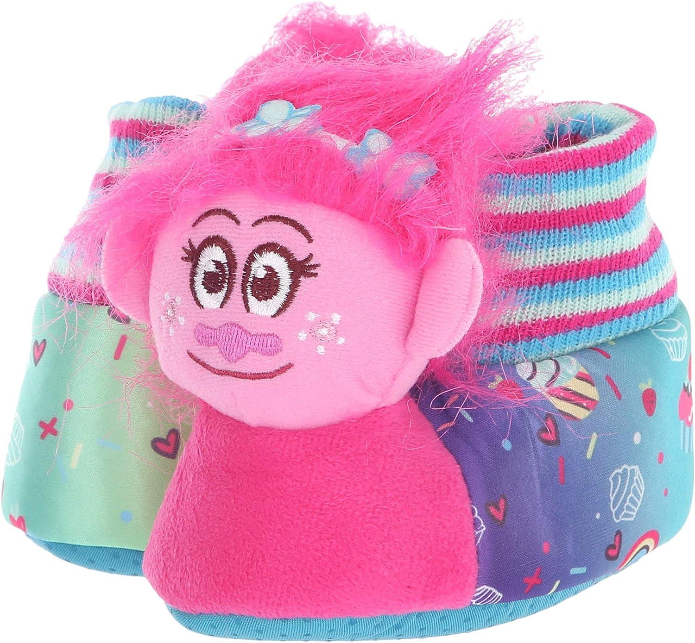 Favorite Characters Girls TLF217 Trolls Slipper Head Toddler//Little Kid
