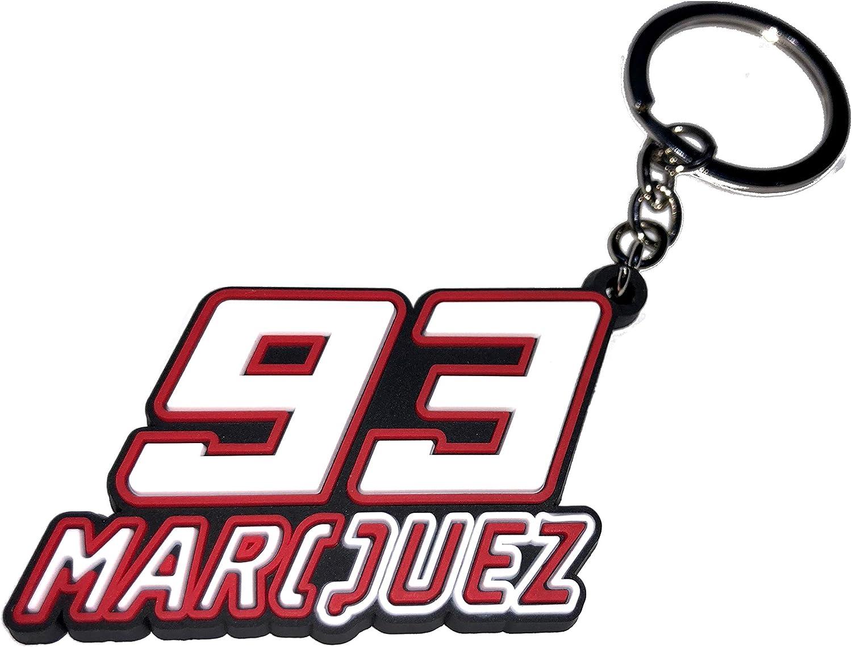 MM93) LLAVERO MARC MARQUEZ 93 MOTO GP MM93: Amazon.es: Ropa y accesorios