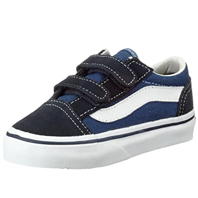 Vans Old School Valcanised, Unisex Childs' Trainers, Blue (navy),