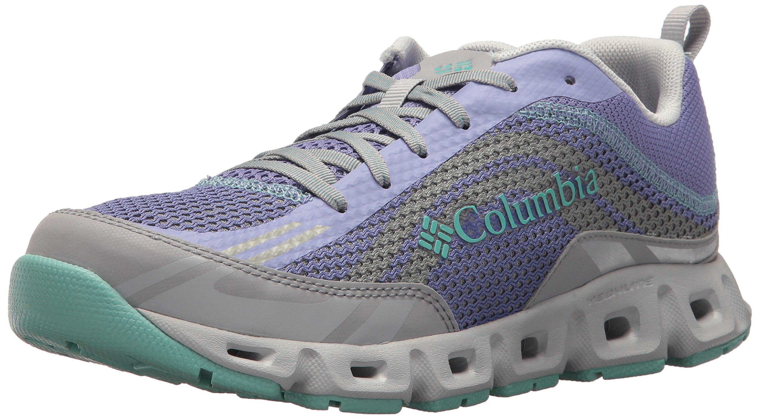 Columbia Women's Drainmaker IV Water Shoe, Fairytale, Aquarium, 8 Regular US by Columbia