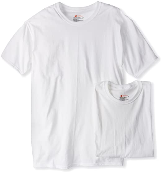 e56088fc241b Hanes Ultimate Men's 2-Pack Tall Man Crew Neck Tee at Amazon Men's Clothing  store: Undershirts