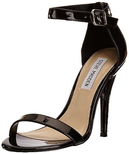 2a40f4d178f Steve Madden Women s Realove Black Ankle Strap 3 UK  Amazon.co.uk ...