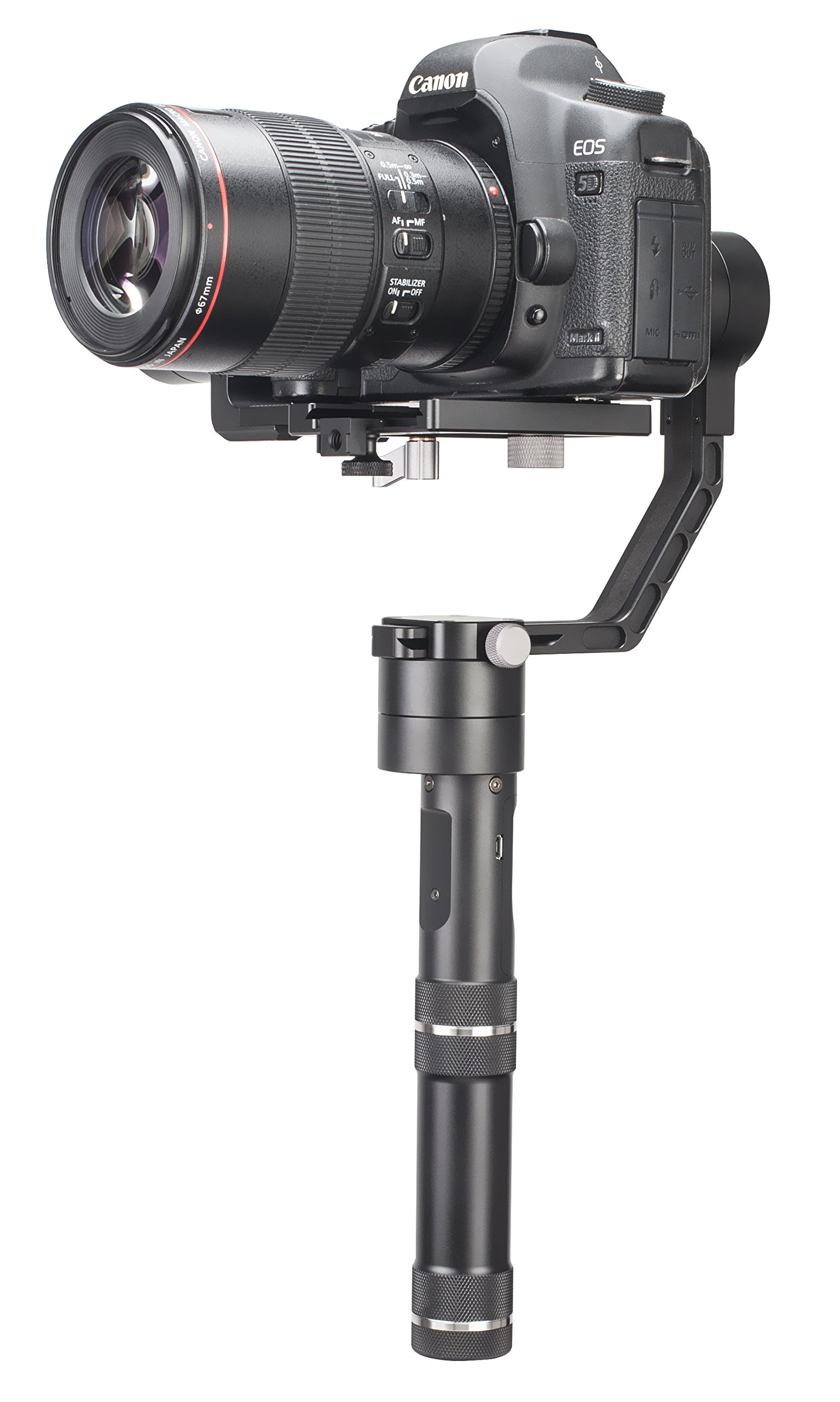 Zhiyun-Tech Crane V2 3-Axis Bluetooth Handheld Gimbal Stabilizer for ILC Mirrorless Cameras Includes Hard Case by zhi yun