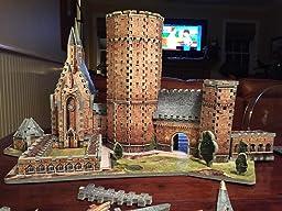Amazon.com: WREBBIT 3D Hogwarts Great Hall 3D Puzzle (850 Piece): Toys