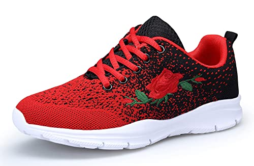 KOUDYEN Zapatillas Deportivas de Mujer Running Zapatos para Correr Gimnasio Calzado