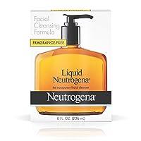 Liquid Neutrogena Fragrance-Free Facial Cleanser