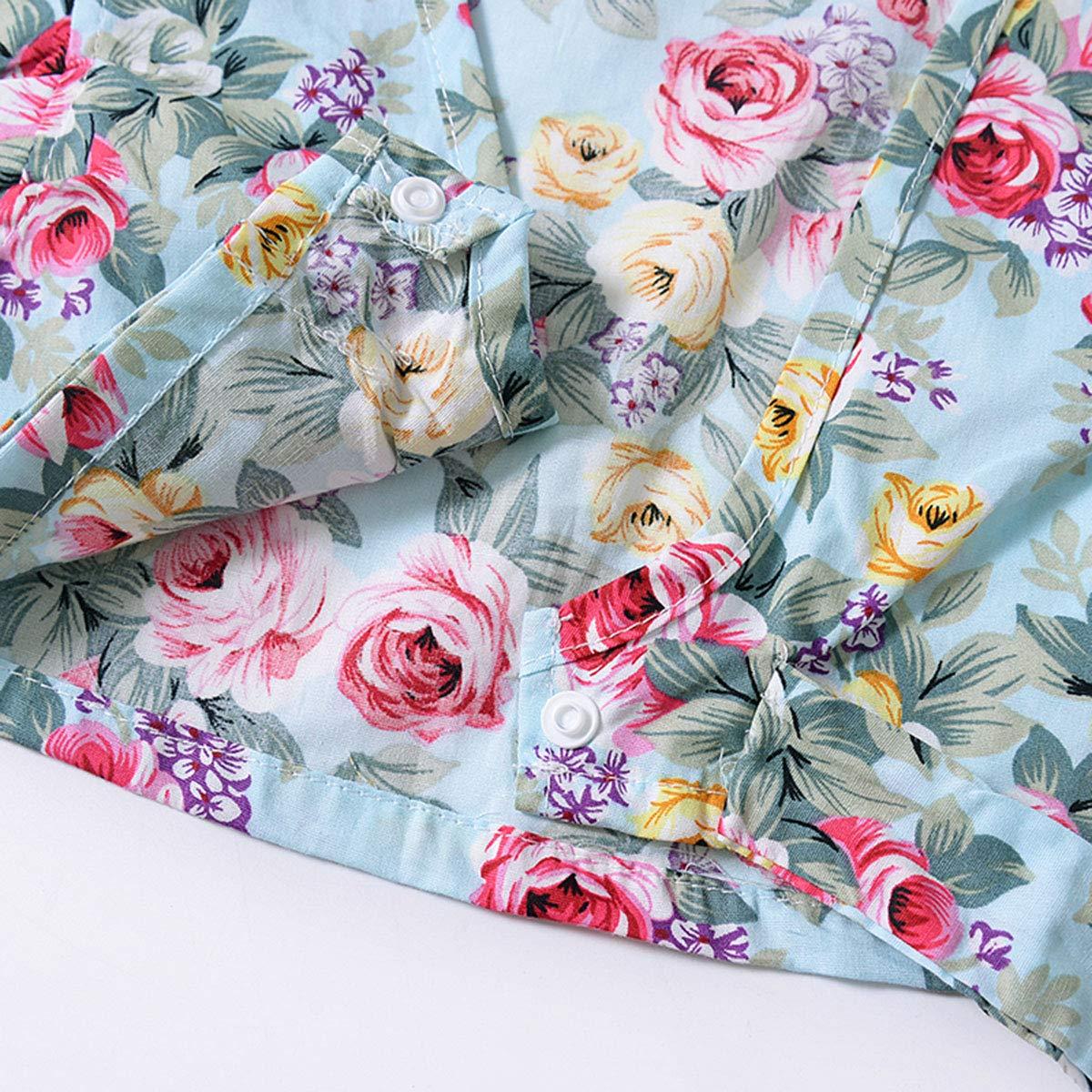 Toddler Baby Girls Floral Slim Strap Crop Top Shirt Flower Skirt Set Dress Outfit