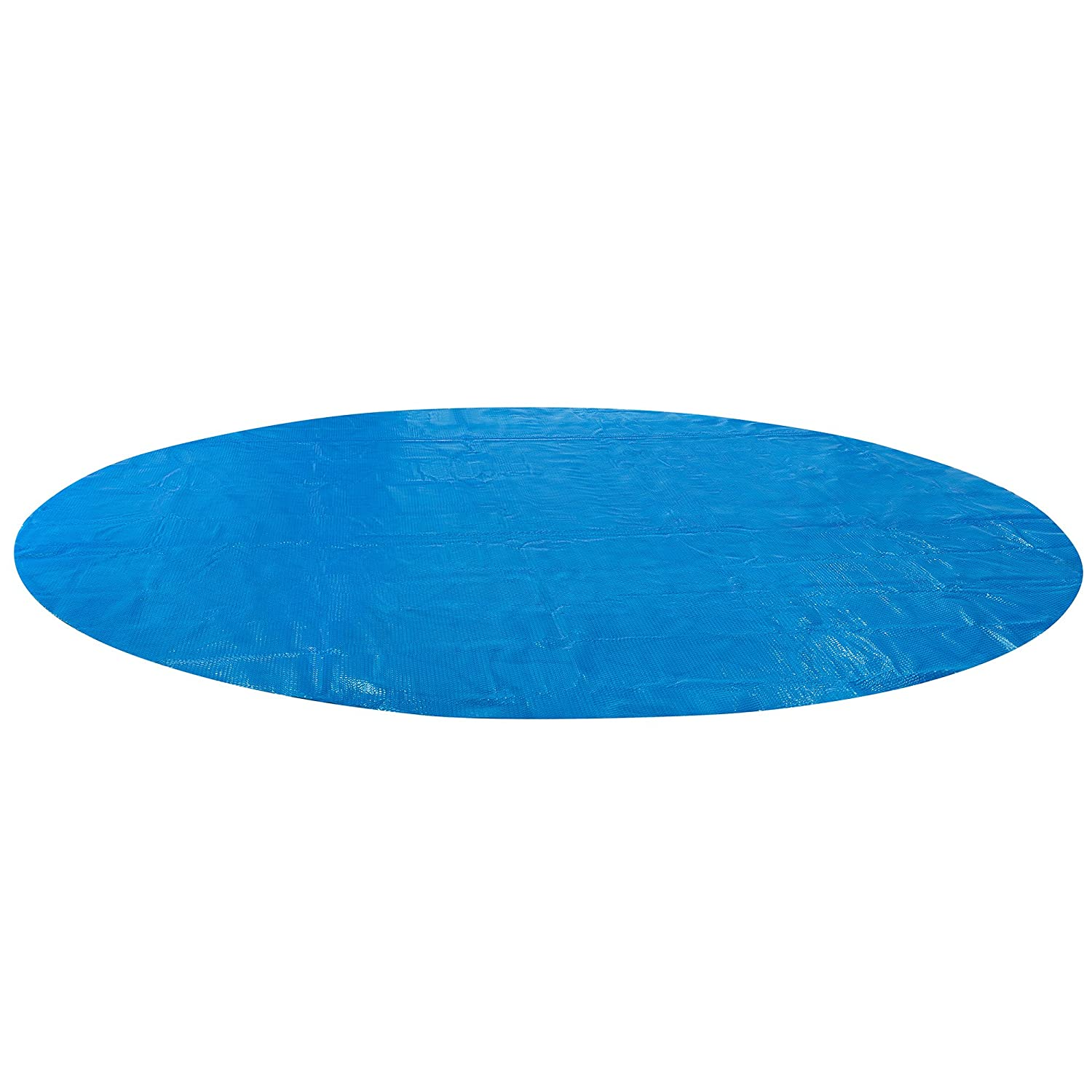 Arebos Solar Pool Cover in different sizes/round or rectangular/blue/400 micron/12ft (3.60m) Canbolat Vertriebs GmbH