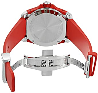 928bcfabb86 Amazon.com  Gucci Quartz Stainless Steel and Rubber Casual Red Men s Watch(Model   YA136309)  Gucci  Watches
