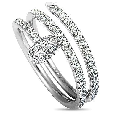 35940306d7df2 Amazon.com: Cartier (Est.) Cartier Juste un Clou 18K White Gold ...