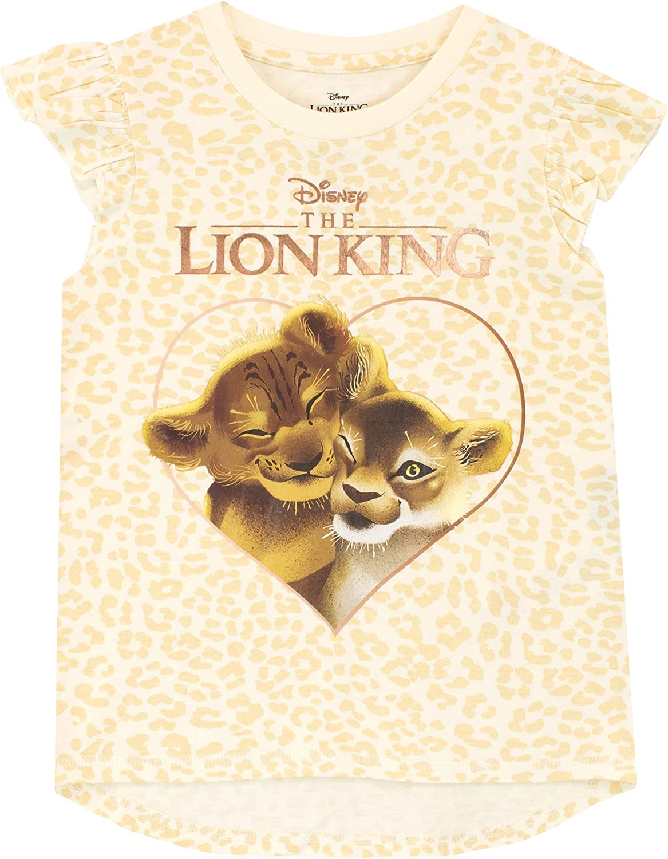 Disney Lion King Simba T-Shirt Bambina