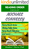 Reading order checklist: Michael Connelly - Series read order: Harry Bosch Series, Mickey Haller Series, Anthologies and more! (English Edition)