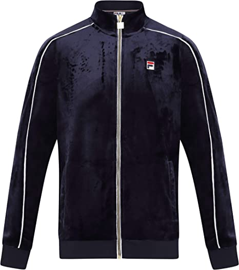 Fila Mens Lineker Track Jacket Black Size S