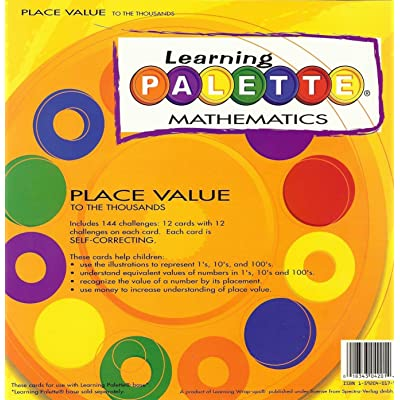 2nd Grade Math Place Value Learning Palette: Toys & Games