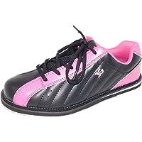 – Zapatos de bolos, 3 G Kicks, hombre y mujer, para diestros y zurdos en 4 colores, talla 36 – 48