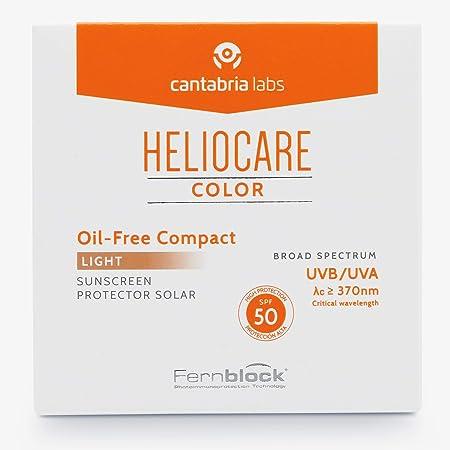 Heliocare Compacto Oil-Free Protector solar SPF 50, 74 g - Light