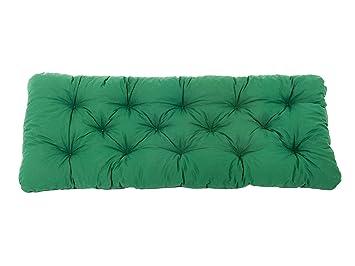 coussin 100 x 100 Ambient home Coussin de banc de jardin EVJE Vert 100 x 50 x 8 cm  coussin 100 x 100