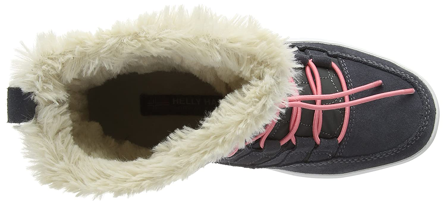 Helly Hansen Women's Harriet Cold Weather Boot B00XIA8CUY 8.5 B(M) US Charcoal/Ebony/Off White